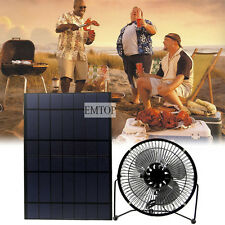 Solar 10w pet Powered  Exhaust Rechargeable Battery Caravan Camping