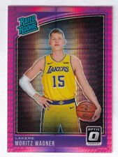 2018-19 Panini Donruss Pink Prizm Rated Rookie Moritz Wagner Lakers #197