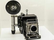 PHOTOGRAPH CLASSIC FILM CAMERA SPEED GRAPHIC ART POSTER PRINT LV3541