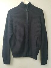 BANANA REPUBLIC Men's Luxe Sweater Collection full Zip Sweater Size S