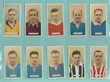 More details for football  -  carreras  ltd.  -  set  of  48  famous  footballers  -  1935