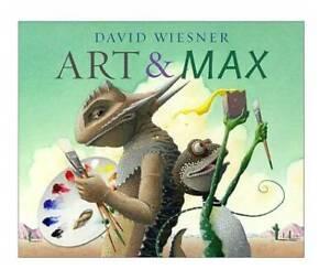 Art & Max - Hardcover By Wiesner, David - GOOD