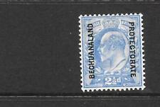BECHUANALAND  1904-13   2 1/2d    KEVII   MLH      SG 69