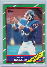 MARK BAVARO 1986 Topps ROOKIE RC #144 Giants