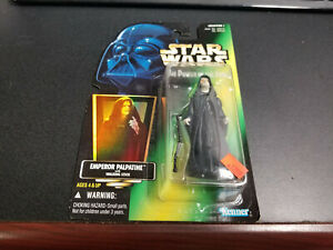 Kenner Star Wars The Power Of The Force Emperor Palpatine figure, New!