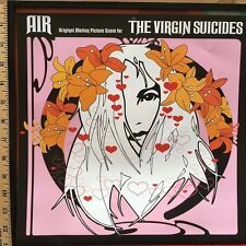 AIR VIRGIN SUICIDES ALBUM CALENDAR ART FRAMED / SOFIA COPPOLA / kIRSTEN DUNST