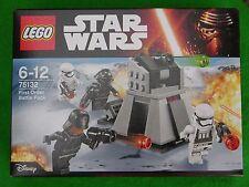 LEGO STAR WARS, BOX SET #75132, FIRST ORDER BATTLE PACK, BNIB