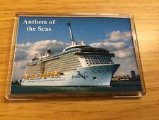 Royal Caribbean ANTHEM OF THE SEAS Large Fridge Magnet Cruise Ship Southampton b
