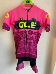 Alé Cycling PRS Ibisco Jersey & Bibshort Kit - Pink - Women's Small