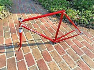 RARE Vintage 70's Torpado / Italvega Nuovo Record Columbus steel 52cm bike frame