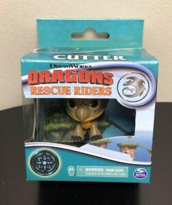 "DRAGONS CUTTER Rescue Ridders Spin Master DreamWorks Mini 2"" Figure NEW"