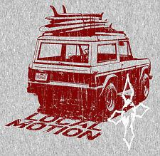 "2.5"" Local Motion Surfrider STICKER. Surfing surfboard 420 for guitar, bong"