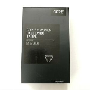 Gore Womens Base Layer Briefs Multi Sport Form Fit Seat Insert White Size M