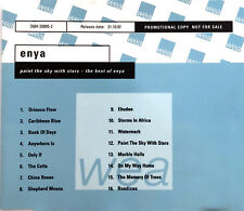 Enya ‎CD Paint The Sky With Stars - The Best Of Enya - Promo - Europe (EX+/EX)