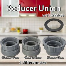 Garbage Disposal Reducer Union Sewer Tube Pipe Adapter Pond Joint Change