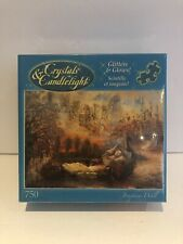 Crystals & Candlelights Dreams Of Camelot 750 Pieces NIB Glitters Glows Fantasy