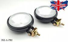 2X OFF ROAD 4X4 HEAD FOG LIGHT LAMP  SUV+  ROOF GUTTER MOUNT RAIL HALOGEN BULB