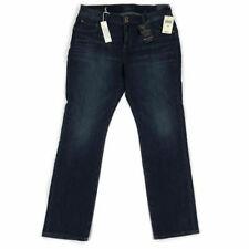 3a14376a157 Lucky Brand Womens Emma Jean Straight Leg Dark Blue Wash Plus Size Variety