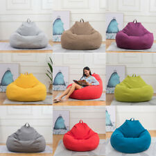 XL Large Bean Bag Chair Sofa Couch Cover Indoor Outdoor Lazy Lounger for Adults