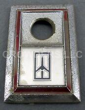 "3""x 2"" Oldsmobile Olds Trunk Lock Rocket Emblem 1980's Era Original Cutlass 442"