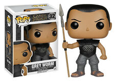"DAMAGED BOX GAME OF THRONES GREY WORM 3.75"" VINYL FIGURE POP BRAND NEW funko"
