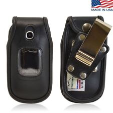 Turtleback Samsung Gusto 3 Heavy Duty Leather Case with Rotating Metal Belt Clip