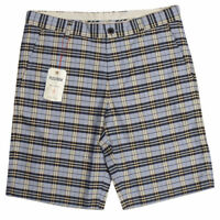 Mens Ben Sherman Plectrum Mod Gingham Check Smart Shorts Tailored Short