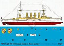 Peddinghaus 1/1250 SMS Gneisenau German Armored Cruiser WWI Markings 3226