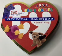 🌈 1999 Ty Beanie Babies Official Calendar 365 Days Of The Year💎