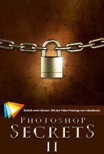 SchulungsDVD PHOTOSHOP SECRETS II, Video2Brain - Lehrprogramm