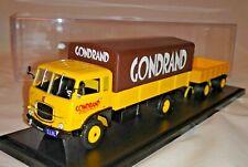 # 1/43 FIAT 643 CASSONATO GONDRAND + RIMORCHIO VIBERTI 2 ASSI CAMION TRUCK 3D #