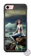 Mermaid Beach Ocean Fantasy Mystical SciFi Phone Case fits iPhone Samsung LG etc