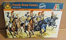 ITALERI FRENCH HEAVY CAVALRY NAPOLEONIC WARS 1:72 SCALE MODEL SOLDIERS HORSES