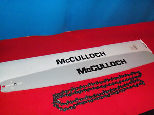 """NEW MCCULLOCH 28"""" HARDNOSE BAR & CHAIN COMBO 050 92 LINK 323959 AH"""