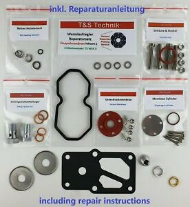 0438140062 Warm up Regulator Repair Kit Gasket Set Porsche 924 2,0 Turbo Wur