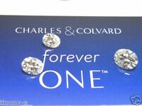 Forever One Moissanite OVAL 8x6 mm 1.50 ct Loose Charles Colvard Colorless D E F