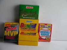 1989-1990 BASEBALL BOXED SPECIAL SETS BUNDLE ( factory sealed NEW)FREE SHIP/GIFT