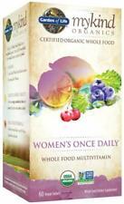 Garden of Life MyKind Organics Women's Organic Once Daily 60 Vegan Tablets