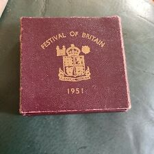 More details for vintage festival of britain 1951 boxed crown coin, five shillings (4)