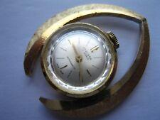 Jowissa Suizo Oro Pendiente reloj de mujer mecánico, 17-Joyas Movt, ** ** S/R