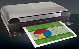 HP Mobile 150 Officejet All-In-One Colour InkJet Printer, Bluetooth Wireless
