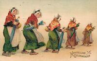 Happy New Year vintage postcard Grandma 02.52