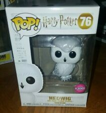 Flocked Hedwig Eb Games Exclusive Funko pop Brand new