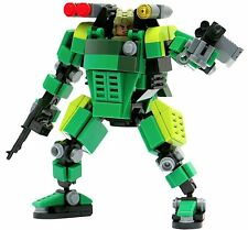 Mybuild Patented Block Building Toy Green Trooper Bricks to Fantastic Robot