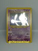 SHINING MEWTWO HOLO POKEMON CARD NEO DESTINY 109/105 ORIGINAL SHINY FOIL NM