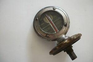 Vintage Boyce Moto-Meter Temperature( GAUGE )Radiator Cap Hood Ornament
