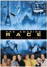 THE AMAZING RACE  1 (2001): with Team Guido - US TV Season Series - NEW DVD R1