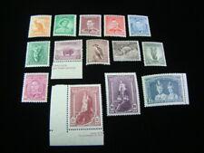 Australia Scott #166-179 Set Mint Never Hinged