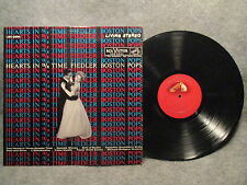 33 RPM LP Record Arthur Fiedler Boston Pops Hearts In 3/4 Time Red Seal LSC 2556