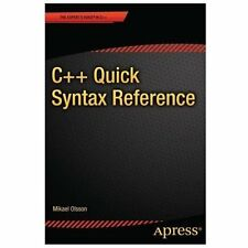 C++ Quick Syntax Reference-ExLibrary